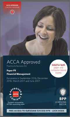 ACCA F9, Financial Management, P&R Kit 2017 exams (eBooK)