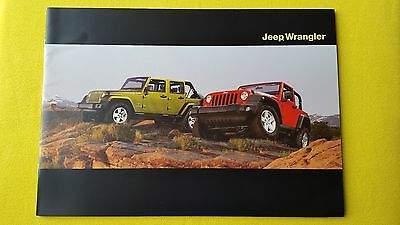 Jeep Wrangler official 4x4 marketing paper brochure March 2009 MINT off road