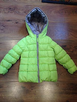 Lime Girls Winter Coat NEW Age 4-5 Padded Fast Delivery