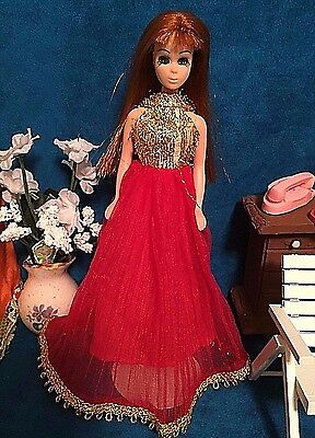 HTF Vintage Topper Dawn Doll Outfit Flutted Flutter Clothing Only