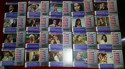20 007 Spy Files Allies Trading Cards ,please read description for numbers