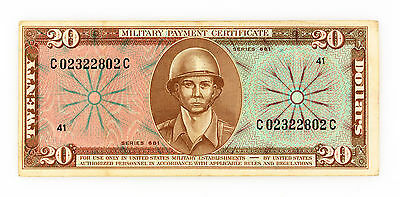 US MPC Series 681 $20 P-M82 vf