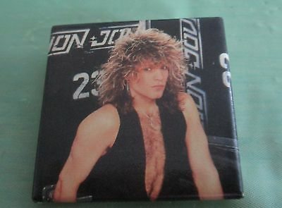 Bon Jovi Pin Button Badge Rock Music Band
