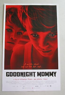 Goodnight Mommy Movie Promo Poster Fan Expo Comic Con 2015 11 x 17 Horror