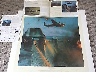 The Dambusters Last Moments of the Mohne Dam Robert Taylor