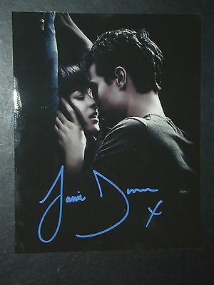 JAMIE DORNAN, FIFTY SHADES OF GREY, 8 X 10 signed autograph photo, free shipping
