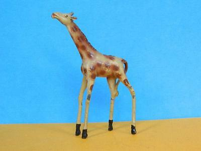 CRESCENT TOYS 1950s RARE LEAD ZOO SERIES BABY GIRAFFE LIKE BRITAINS