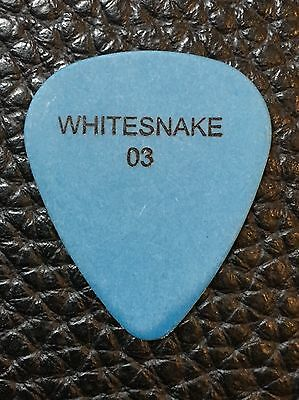 Guitar Pick - Whitesnake - Marco Mendoza-   Real Tour Pick