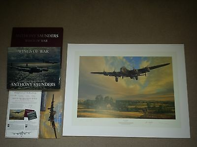 King Of The Air & Wings Of War Book and Print Portfolio Anthony Saunders