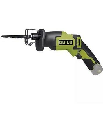Guild CSR12G 10.8V Lithium LI-ION Cordless Reciprocating Saw Body Only New Boxed
