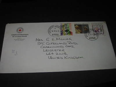 Croatia rare 292-291 international red cross envelope/ cancelled 1994 Zagreb