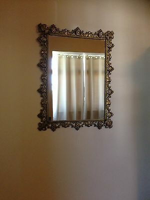 Vintage French Country Mirror, Large