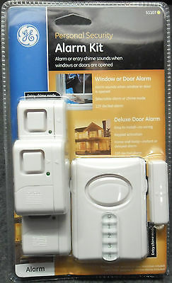 GE Personal Security Door & Window Alarm Kit by GE 51107 NEW SEALED & SHIPS FREE