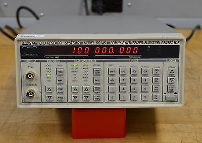 Stanford Research DS345 Synthesized Function Generator with Opt 1 CALIBRATED