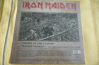 """IRON MAIDEN Empire Of The Clouds 12"""" UK picture disc RSD 2016 in gatefold SEALED"""