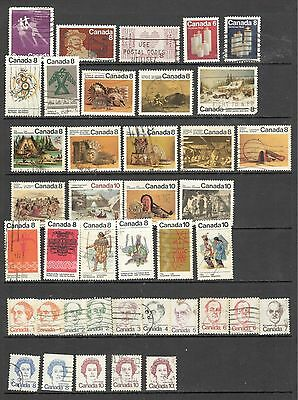 Canada 1972-1974 Year Set Mix Condition (107-21)