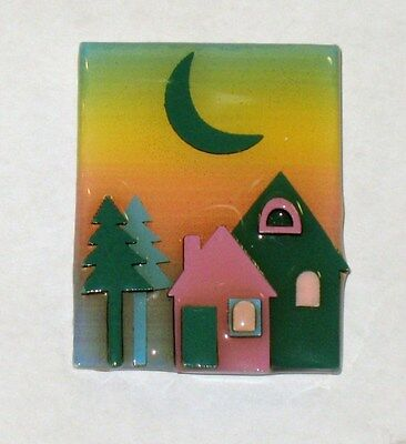 VINTAGE Lucinda Jewelry Pin Brooch HOUSE PIN  #3