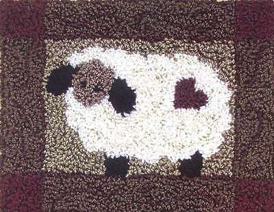 SHEEP PUNCHNEEDLE EMBROIDERY KIT, From Rachel's Of Greenfield NEW