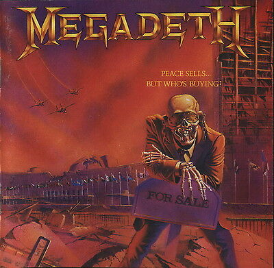 MEGADETH - Peace Sells But Whos Buying? Album Cover Art Print Poster 12 x 12