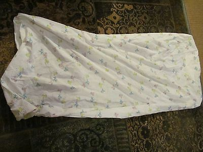 Vintage Baby / Doll  Crib Sheet with  sheep and stars.
