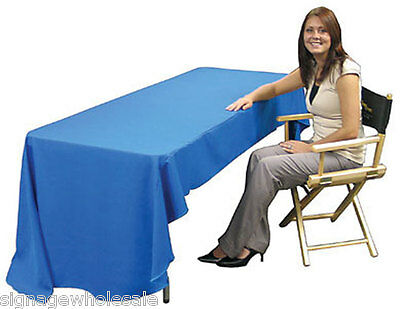 6ft(3)Full Length Table Throw with Customs Dye-sublimation Full Color Printing