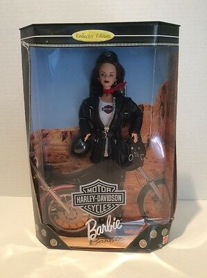 1998 Harley Davidson Barbie Collectors Edition #3 In Series - Ships Free