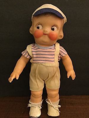 "Vintage Campbell's Soup Kid 12"" Rubber Doll"
