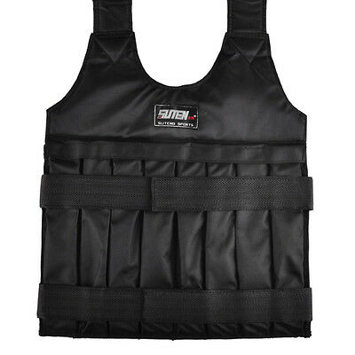 20kg Adjustable Weighted Vest With Sholder Pads Comfortable Weight Jacket