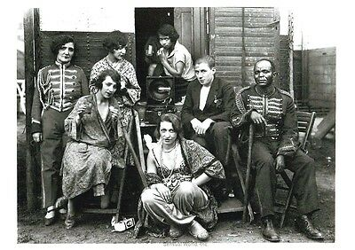 Postcard / Circus People / August Sander / 1930