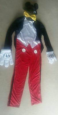 Mens Disney Mickey Mouse Fancy Dress Adult Costume