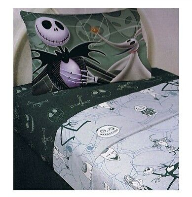 The Nightmare Before Christmas Sheet Set Full Size 4 Pieces