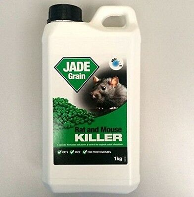 1kg JADE GRAIN STRONG PROFFESIONAL RAT and MOUSE POISON