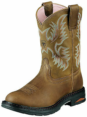 ARIAT - Women's Tracey Comp Toe Work Boots - Dusted Brown - ( 10008634 ) - 9B