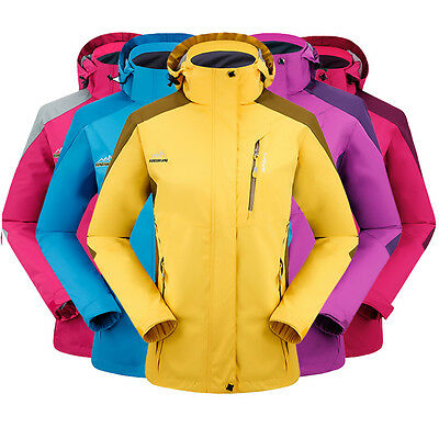 NEW Women Good Waterproof Breathable Outdoor Sking Hinking Jacket FXL