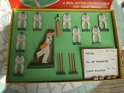 """Vintage Board Game ' Cricket At Lord's """" Made In England 1949."""