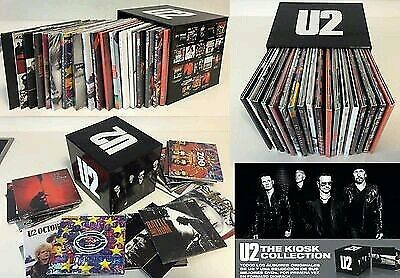 """U2 """"the Kiosk Collection"""" Exclussive Promo Spanish 14Cd & 4Dvd Digipack Boxed"""