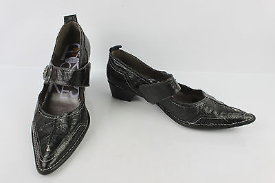 Court shoes Trotters POMARES VAZQUEZ Black Leather T 41 VERY GOOD CONDITION