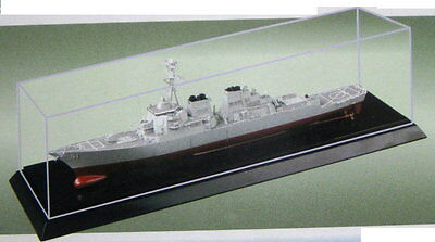 Dust cover Display counter Showcase for Model ships Model boats 257x66x60mm