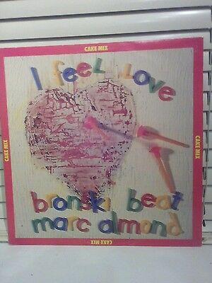 Bronski Beat,Marc Almond 12 inch+45 picture disc,I feel love,1985.