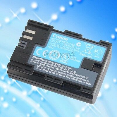 Original LP-E6 Genuine Canon LPE6 battery pack forEOS 70D 5DII 5D2 5D3 7D 6D 60D