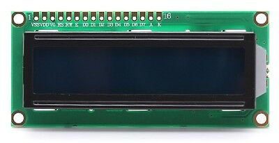 1602A 16 X 2 Lines White Character LCD Display Module Pi or Arduino CHIP 182