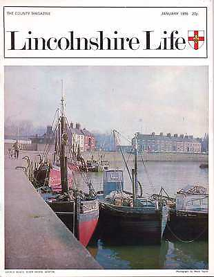 LINCOLNSHIRE LIFE January 1976 featuring Binbrook