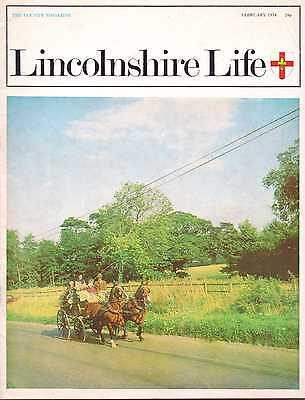 LINCOLNSHIRE LIFE February 1974 featuring Silk Willoughby