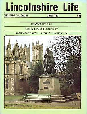 LINCOLNSHIRE LIFE June 1986 featuring Lincoln