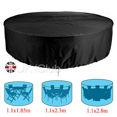 4/6/8 Seater Waterproof Outdoor Furniture Shelter Garden Patio Table Chair Cover