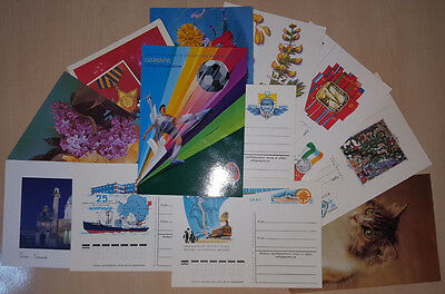 Postcards from USSR Austria Russia Flowers Rare Ships Vessels