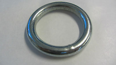 """WELDED METAL O RINGS 2"""" - 50mm PLATED FINISH  20RNG38P"""