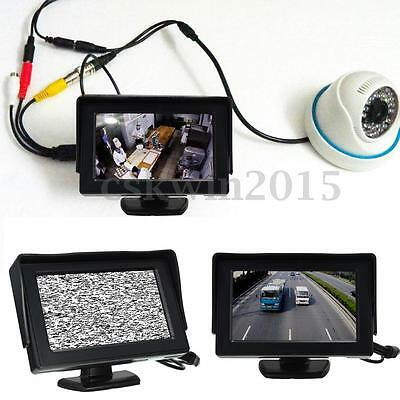 HD 4.3 inch LCD Video Security Tester CCTV Camera Test FPV Snow Monitor w/ Cable