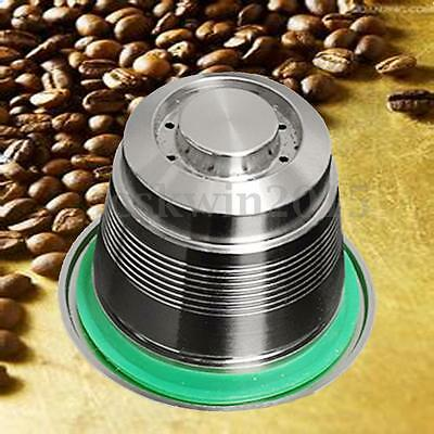 Stainless Steel Refillable Reusable Coffee Metal Capsule For Nespresso Machine