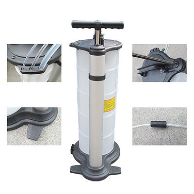 Hand Pump 9L Engine Motor Oil Brake Fluid Extractor Removal Sump Transfer Vacuum